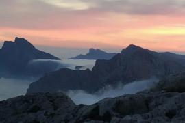Good morning from foggy Mallorca!
