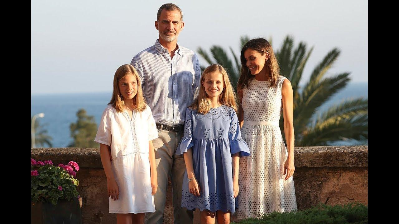 Princess Leonar and the Royal Family summer holidays on the island