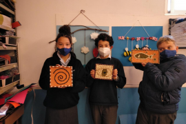 Year 7 Craft class at Bellver