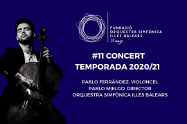 Thursday's Balearic Symphony Orchestra will have Live Audience