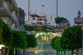Magalluf streets closed