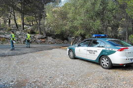 Social media alerts to biker controls in the Tramuntana