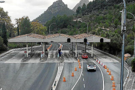 Soller Tunnel toll installations to be removed