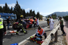 Fatal road accident in Andratx