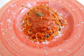 Pasta menu a good deal
