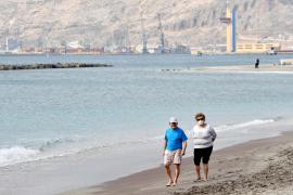 Tourists heading to Mallorca.