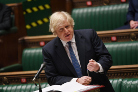 Johnson: vaccine passports part of our international travel future