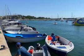 Migrant boat intercepted off Cabrera