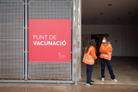 Vaccination point in the Balearics