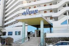 The Allsun Pil·larí Playa hotel, Playa de Palma, Mallorca.