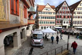 The spread of the coronavirus disease (COVID-19) continues in Tuebingen