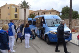 First tourists arrive at the Robinson Club Cala Serena