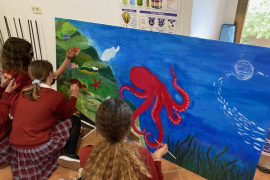 Collaborative Art for change project Mural