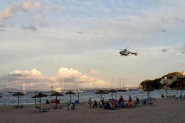 Drones & helicopters on duty in the Balearics at Easter