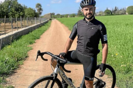 Raül Vall puts the pedal to the metal in Mallorca