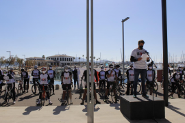 On Wednesday, the thirty cyclists set out from Puerto Pollensa