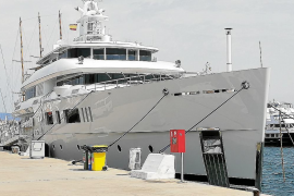 Nautilus superyacht docks in Palma for the first time