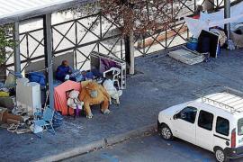 Residents living in fear of homeless in Palma neighbourhood