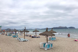 Fifty per cent reduction for Can Picafort beach services contract