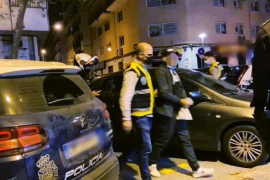 Arrest of a minor in Palma, Mallorca