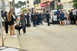Tensions in Cala Ratjada after police officers are attacked
