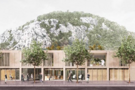 Pollensa's new health centre - ready by the end of 2023
