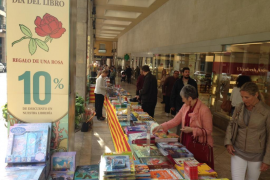 Palma preparing for the Sant Jordi book fair