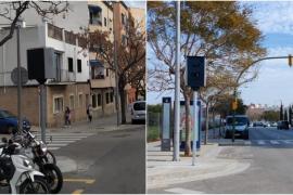 Speed radars in Palma, Mallorca