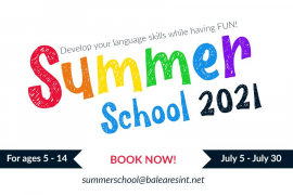 BIC are delighted to announce their Summer School for July 2021