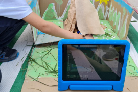 Stop Motion Movies in Year 1 at Mallorca International School