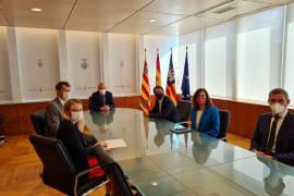 British Ambassador Hugh Elliott at a meeting in Ibiza