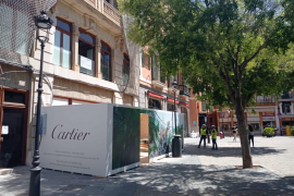 Time for a change at Cartier in Palma