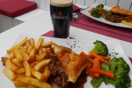 The restaurant review: Michaela's steak pie was Guinness winner