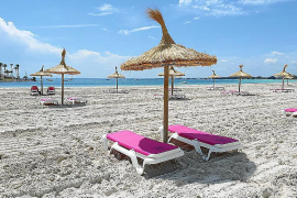 Alcudia and Muro beaches open for the start of the season