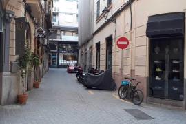 Calle Fideus in Palma, Mallorca