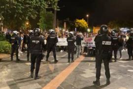 Arrests follow Palma protest against restrictive measures