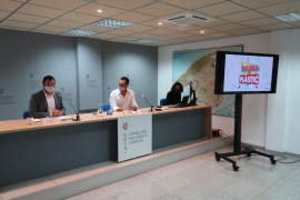 Advertising campaign against the use of plastics in the Balearics