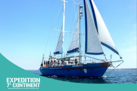 Save the med: Visit the 7th Continent's Expedition Ship and interactive exhibition in Port Adriano!