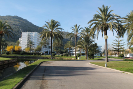 the Bellevue area in Alcudia
