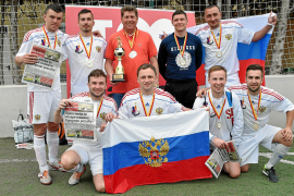 Russia crowned Majorca champions