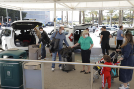 Complaints from taxis at Son Sant Joan airport