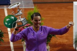 Tenth Italian Open for Rafa Nadal