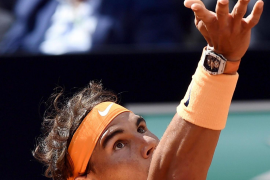 Rafael Nadal comes from set down to beat Nick Kyrgios in Rome