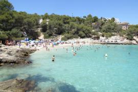 Cala Comtessa beach on Mallorca