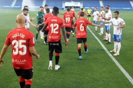 Mallorca celebrate promotion in Tenerife