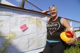 Briton to swim from Minorca to the mainland via Majorca and Ibiza
