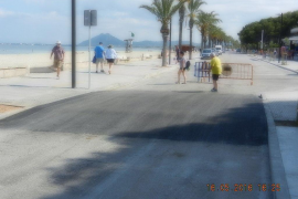 Puerto Pollensa disabled road crossings now in place