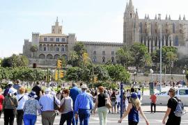35,000 cruise passengers visiting Palma this week