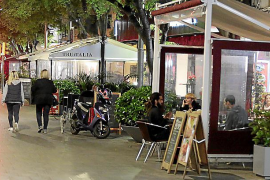 Palma continues crackdown on bar and restaurant terraces