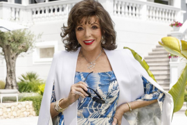 Home from home for Dame Joan Collins in Mallorca